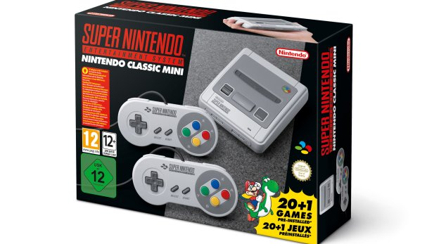 SNES Classic Mini - Box