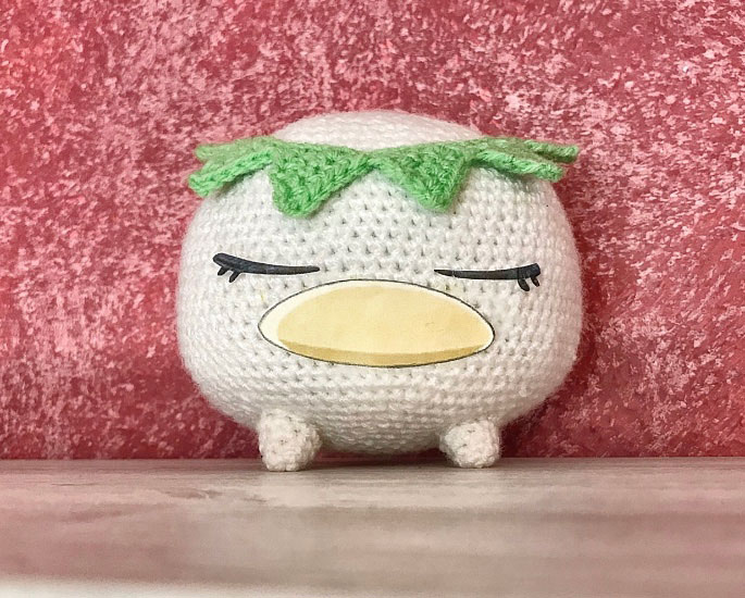 Amigurumi Puppe Schnuller Baby Kostenlose Häkelanleitung - Crochet ... | 550x685