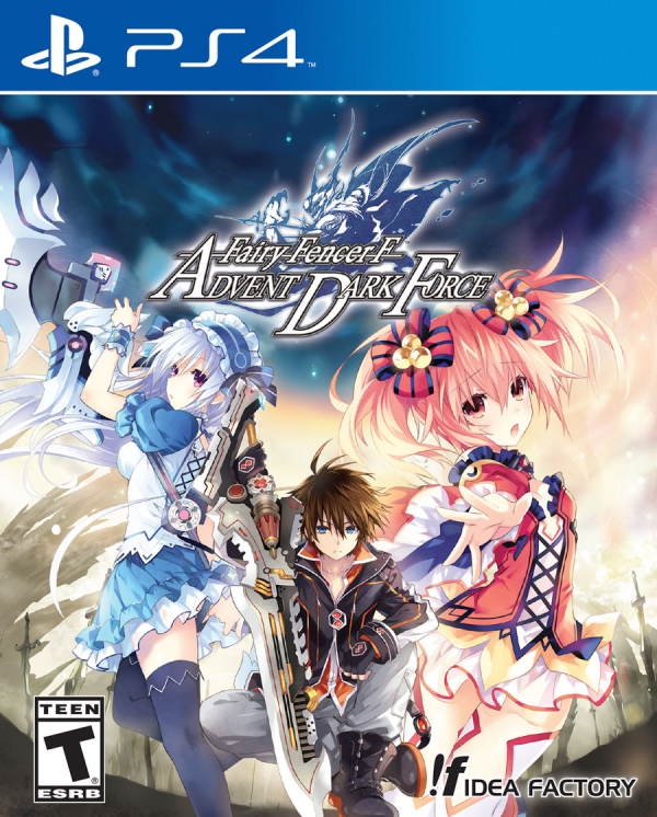 Fairy Fencer F: Advent Dark Force - Cover