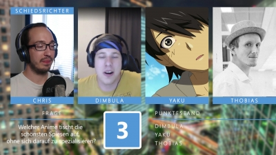 Anime Fights - Runde 3: Schlagabtausch (mit Thobias Quaß)