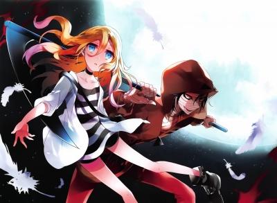 Anime zu »Satsuriku no Tenshi« befindet sich in der Mache