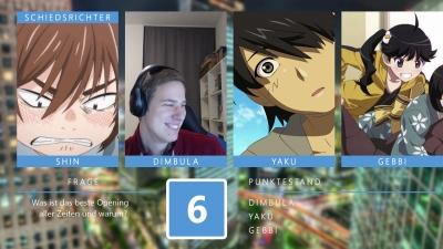 Anime Fights - Runde 6: Schlagabtausch (mit Gebbi von NanaOne)