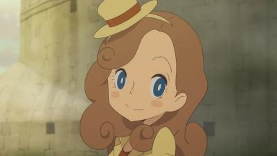 »Professor Layton« - Anime um Lady Layton angekündigt
