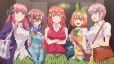 »The Quintessential Quintuplets« - Romcom-Anime startet am 10. Januar