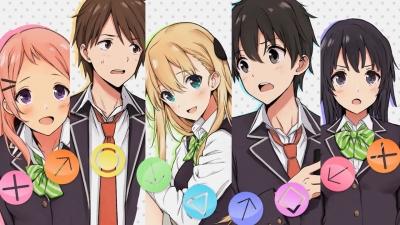 Sekina Aois Lightnovel Gamers! wird als Anime umgesetzt