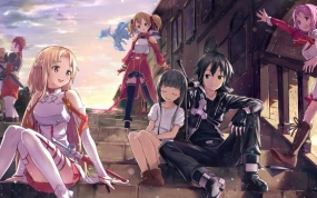 Sword Art Onlines Novel beginnt 2017 neuen Ark