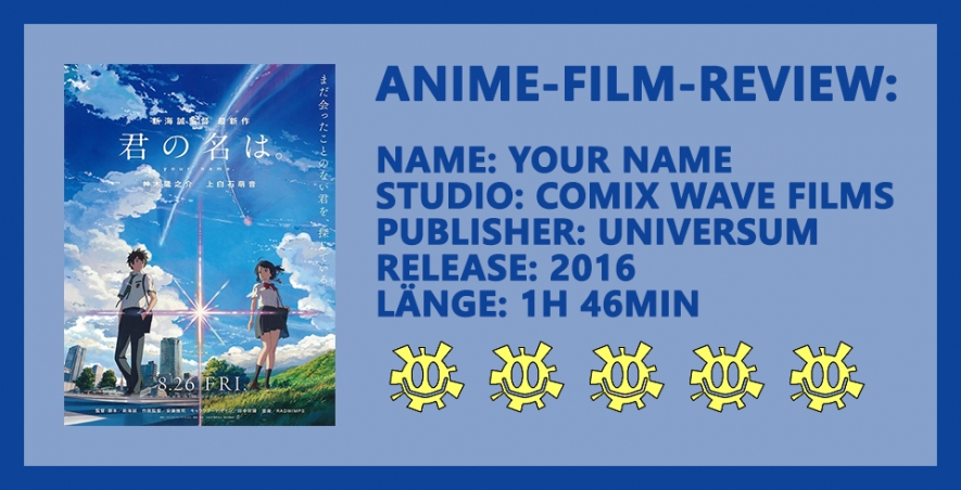 Animefilm-Review: Your Name - Ein Schlussstrich unter der Miyazaki-Ära?