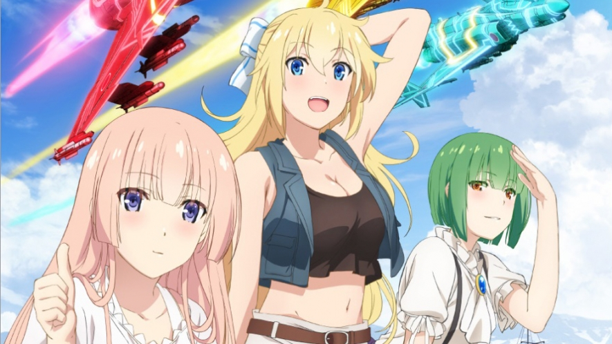 »Girly Air Force« - Action-Scifi-Anime startet am 10. Januar