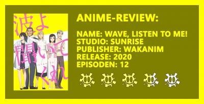 Anime-Review: Wave, Listen to Me! - Hör, was ich zu sagen habe!